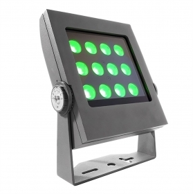Led spotlight outdoor IP65 35w rgb dmx 24v light plants trees, signs fullcolor