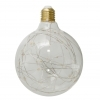 Led bulb, decorative globe, large 2w E27 2200K warm light pub bar, vintage