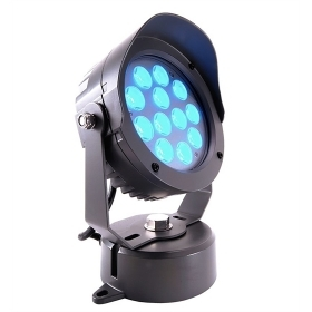 Spotlight, spot led 25w angle 30 degrees RGB full color DMX 24V IP65 light plants