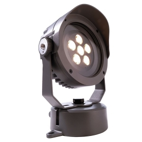 Headlight projector LED spot lights 18w ip65 yield 200w warm 3000K light for façades IP65