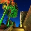 Spotlight lighthouse garden plants, palms, trees, facades and full-color led rgb rgbw 34w IP65 24V