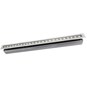 Spotlight floor rectangular 24 LED spot 32W exterior recessed garden IP67
