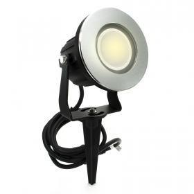 Led floodlight 8W garden swivel picket lamp gu10 220V IP65 segnapassi