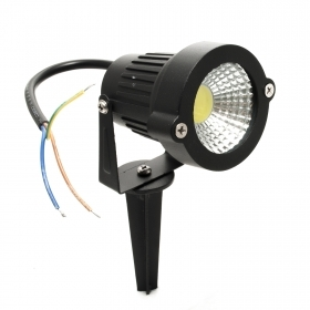 Spotlight 5W led spot 450lm swivel stake IP65 garden light path indicators