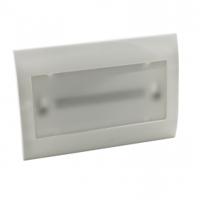 Lamp led emergency recessed bo