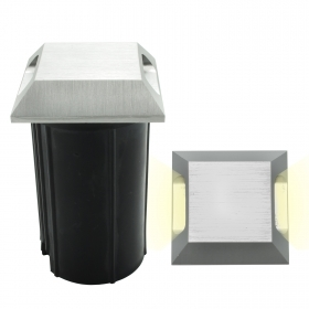 Spotlight floor marking steps 3w grazing light square double emission IP65