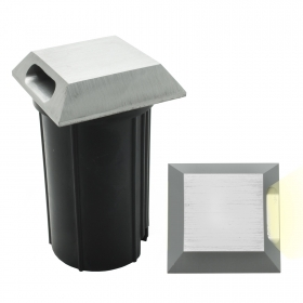 Spotlight floor marking steps 3w grazing light square outdoor garden IP65