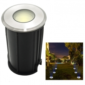 Spotlight floor 12V led 2W recessed exterior ground low voltage IP68 180lm