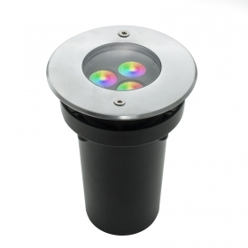 Lighthouse floor led rgb 8w synchronized IP67 24v for outdoor games light