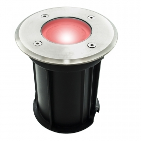 Spotlight, recessed, path indicators, led 6W light colored floor garden gu10 ip65