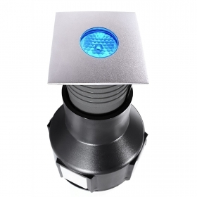 The walkable square led 3.5 w rgb full color dmx spot 24v IP67 segnapassi spot