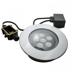 The walkable recessed floor hole 150mm IP67 spotlight spot segnapassi led 11w