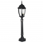 Lamp lantern New York 87cm height protection rating IP44 attack lamp E27