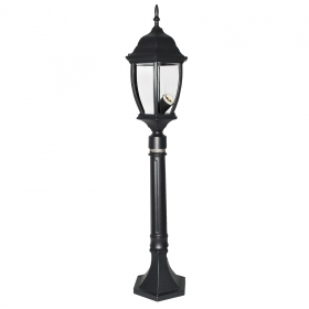 Street lamp lantern outdoor garden, model, New York 87cm IP44 E27 230V