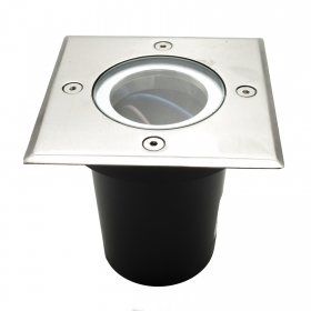 Spotlight walkable led recessed square GU10 segnapassi garden light