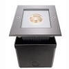 Spotlight square walkable recessed ground IP67 spot 25 degree led cob 6w 230v