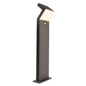 Lamp garden IP65 with motion sensor led 16w warm light 3000K H. 100cm