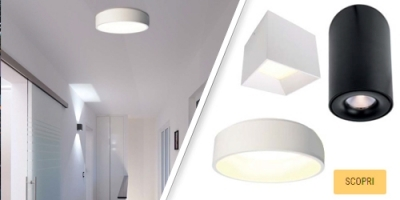 Plafoniere led soffitto