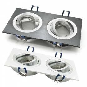 Port led downlight led rectang