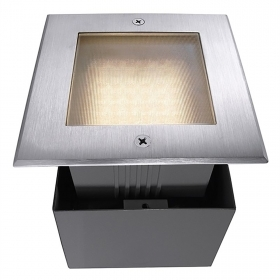 Path indicators, recessed, ground floor spotlight floor square IP67 led 2.2 w