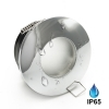 Indoor recessed spotlight waterproof IP65 for shower finish polished chrome