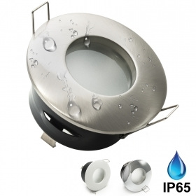 Port spotlight recessed bathro