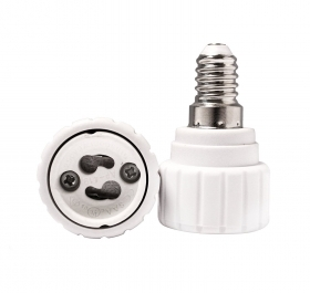 Adapter converter led bulb lamp socket reducer, attack from e14 to gu10