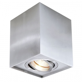 Lamp ceiling led spotlight square light directional spot ceiling light GU10 8W
