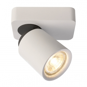 White spotlight ceiling spot l