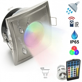 Spotlight IP65 5w LED chromoth