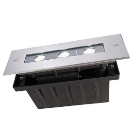 Path indicators led asymmetrical rectangular floor ground floor IP67 4.5 w