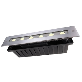 Led path indicators light outdoor IP67 walkable 24V 12w asymmetric optics 45/35g