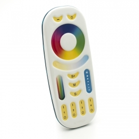 The remote controller RGBWW 4-channel Rf 2.4 dimmer control led lamps RGB