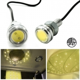 10pcs led spotlights spot light warm 3w IP67 starry sky shower Turkish bath