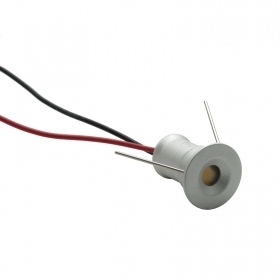 Step light led 1W path indicators spotlight, recessed, spot 12V IP65 outside light boat
