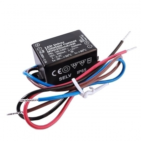 Transformer driver, mini power supply led lights 4W 3V to 12V IP65 input 220V