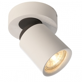White spotlight ceiling spot light GU10 5W LED lighting showcase picture