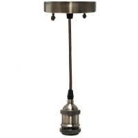 Chandelier pendant suspension E27 b
