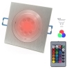 LED spotlight recessed adjustable chromotherapy GU10 hole 8 colored light RGB CCT