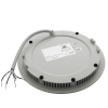 Led downlight led panel, recessed LED slim 8W 24V DIMX colored light RGBW 3000K hole 13