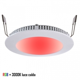Downlight Led del panel del led, empotrables LED slim 8W 24V DIMX de color de luz LED 3000K hoyo 13