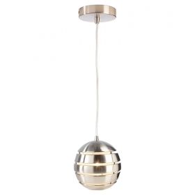 LED lamp pendant metal modern