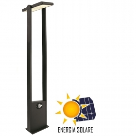 LED streetlight solar panel adjustable IP54 twilight movement 3200K, 1M