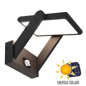 Applique lamp LED solar adjust