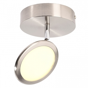 LED spotlight lamp ceiling diffuser panel slim adjustable round 5W 220V
