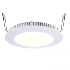 LED spotlight CCT 8W panel, recessed, slim 24V light 2700 6000K shop office