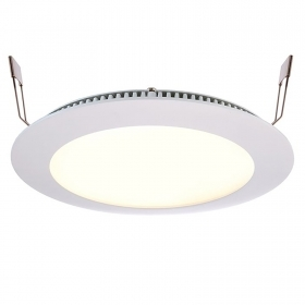 Panel recessed slim downlight LED CCT 15W 24V dimmable 2700K 6000K shop