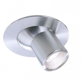 LED spotlight 2W recessed spot light targeted directional showcases jewelry hole 25mm