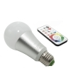 LED RGB bulb 16W E27 multicolour chromotherapy infrared remote control 220V