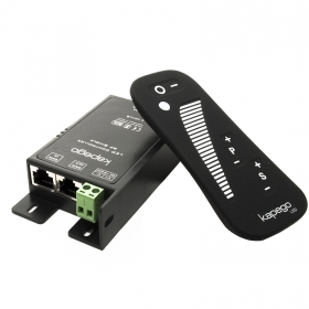 Controller dimmer LED controller 12V 24V RF remote control with 4 lighting effects-15A 360W